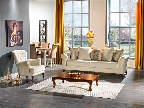 GOLD SOFA SET