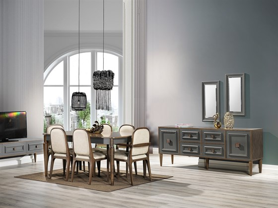 LOTUS DINING ROOM SET